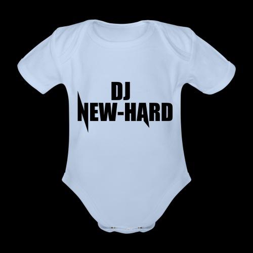 DJ NEW-HARD LOGO - Baby bio-rompertje met korte mouwen