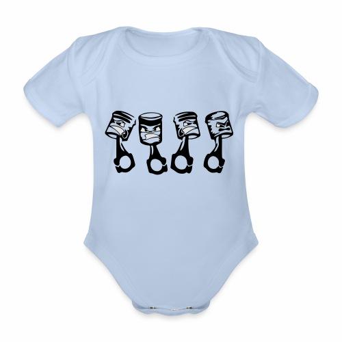 Freche Kolben - Baby Bio-Kurzarm-Body