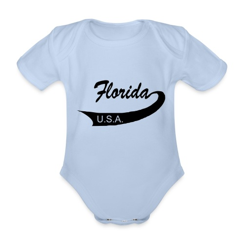 Florida USA - Baby Bio-Kurzarm-Body