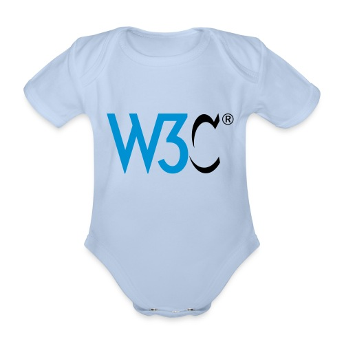 w3c - Organic Short-sleeved Baby Bodysuit