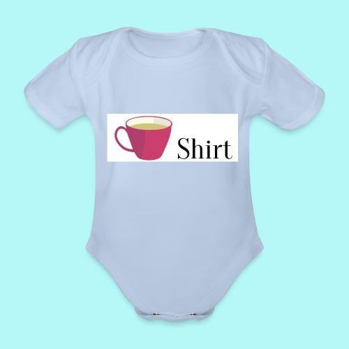 Tea-Shirt - Baby Bio-Kurzarm-Body