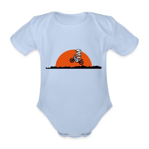 Paris Dakar - Baby Bio-Kurzarm-Body
