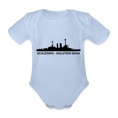 Schleswig-Holstein DSGN - Ekologiczne body niemowlęce z krótkim rękawem