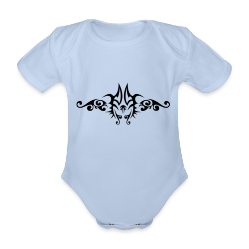 Motif Tribal 6 - Body Bébé bio manches courtes