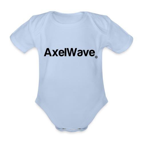 Logo Axelwave copyright - Body Bébé bio manches courtes