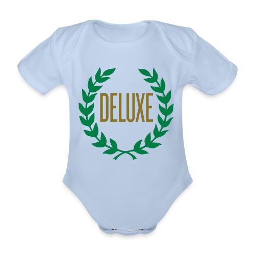 De Luxe - Baby bio-rompertje met korte mouwen