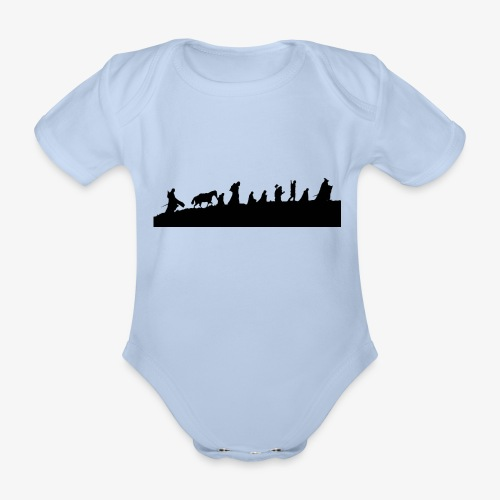The Fellowship of the Ring - Organic Short-sleeved Baby Bodysuit