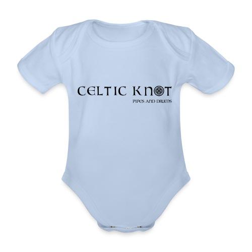 Celtic knot - Body ecologico per neonato a manica corta