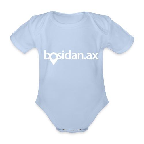 Bosidan.ax officiella logotypen - Ekologisk kortärmad babybody