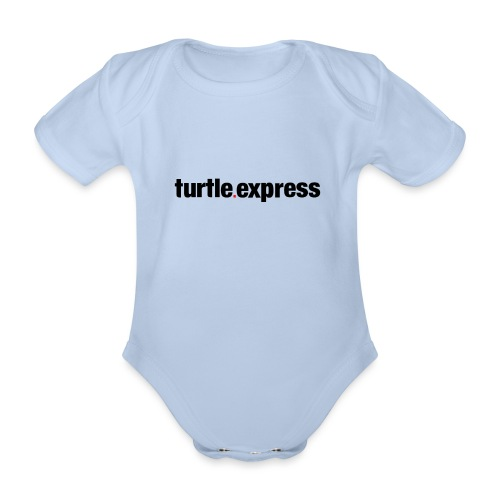 TEX Schriftzug - Baby Bio-Kurzarm-Body