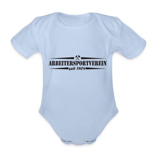 Arbeitersportverein seit 1904 - Baby Bio-Kurzarm-Body