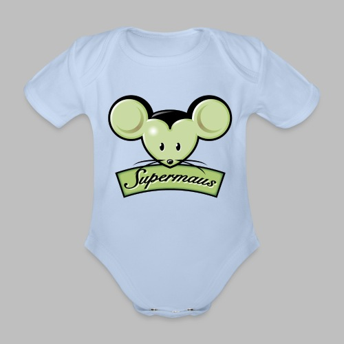 Supermaus - Baby Bio-Kurzarm-Body