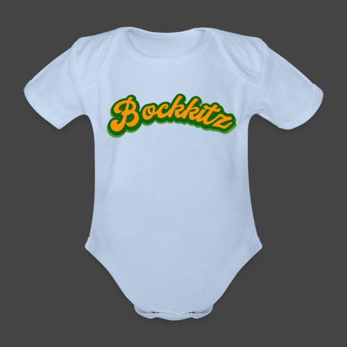 bockkitz - Baby Bio-Kurzarm-Body