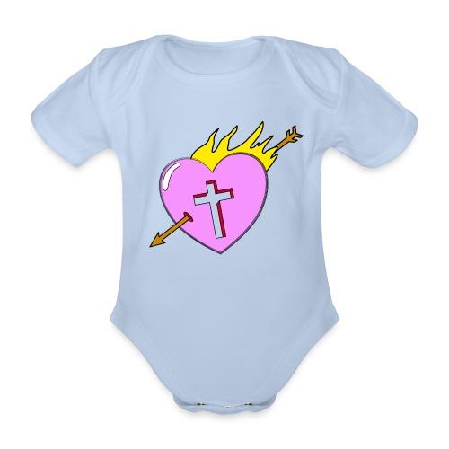 Real Love - Baby Bio-Kurzarm-Body