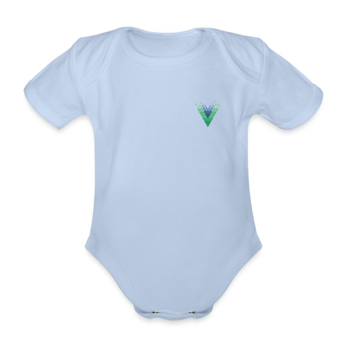 Vue.js London - Organic Short-sleeved Baby Bodysuit