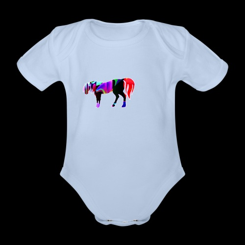 Cavalo triste - Body Bébé bio manches courtes