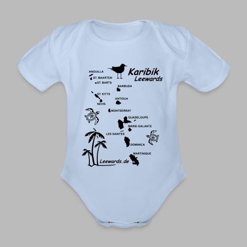 Karibik Leewards Segeln Leward Islands - Baby Bio-Kurzarm-Body