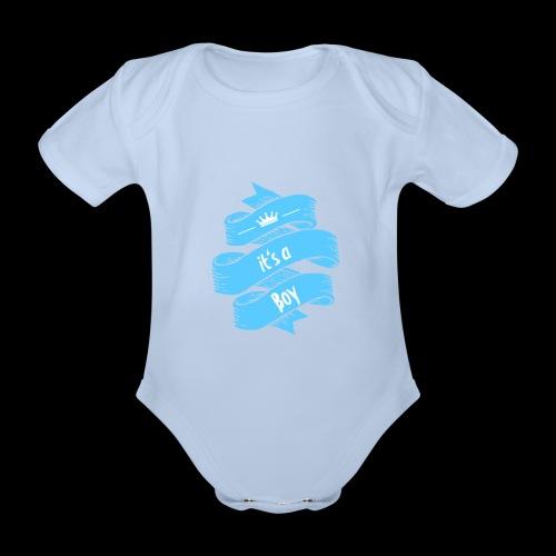 it's a Boy - Baby Bio-Kurzarm-Body