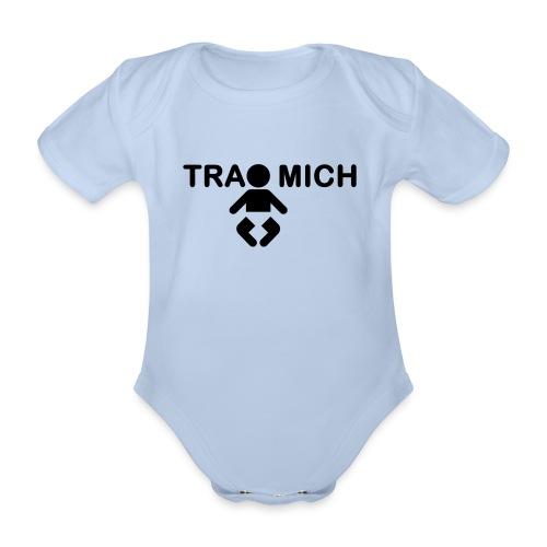 trage mich - baby - Baby Bio-Kurzarm-Body