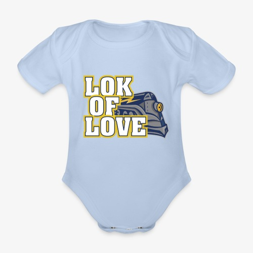 LOK OF LOVE 1 - Baby Bio-Kurzarm-Body