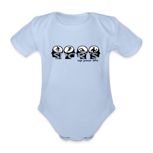 Sports up your life - Baby Bio-Kurzarm-Body