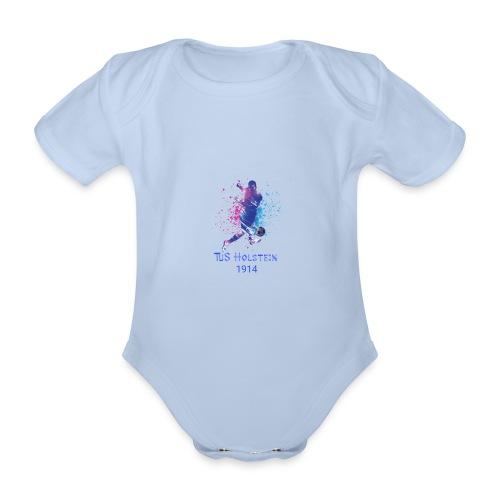 TuS Holstein Fußball - Baby Bio-Kurzarm-Body