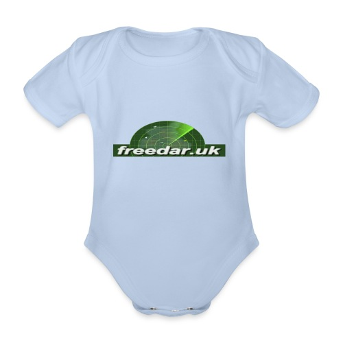 Freedar - Organic Short-sleeved Baby Bodysuit