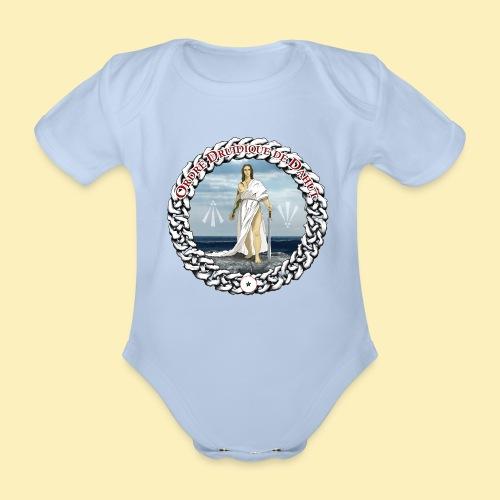 Ordre Druidique de Dahut Logo - Body Bébé bio manches courtes