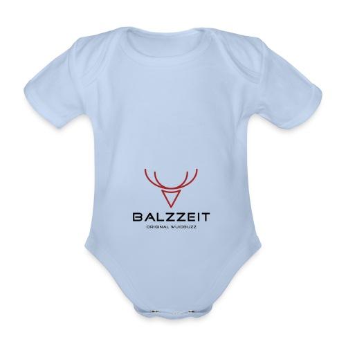 WUIDBUZZ | Balzzeit | Männersache - Baby Bio-Kurzarm-Body