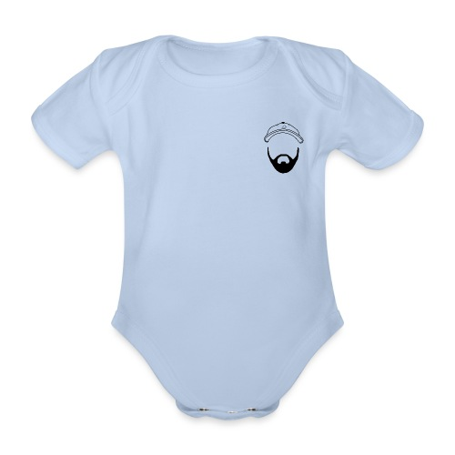 #PizzabakkerStefan - Baby bio-rompertje met korte mouwen