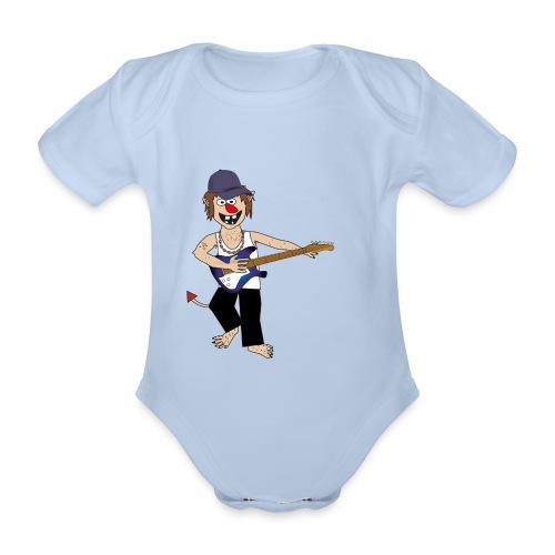 Baby trold - Kortærmet babybody, økologisk bomuld