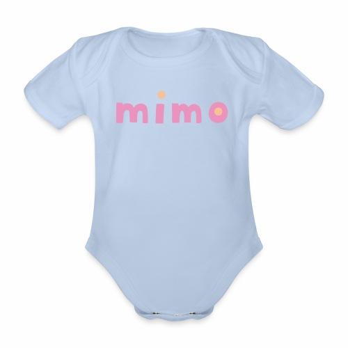 mimo - Baby Bio-Kurzarm-Body