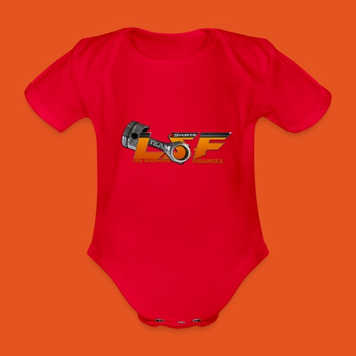 LSFlogo - Body Bébé bio manches courtes