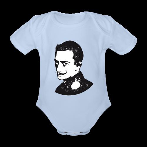 Salvador Dalí - Body orgánico de maga corta para bebé