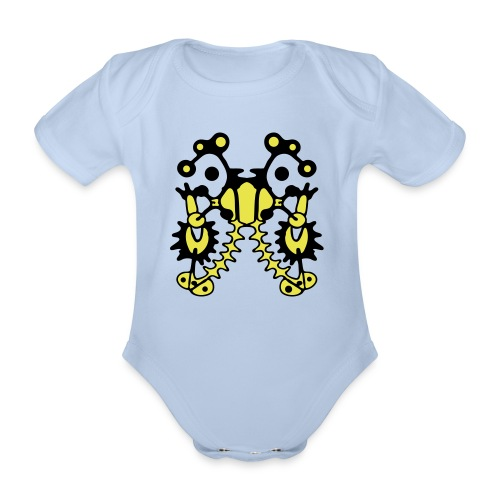 Tattoo T-Shirt Design - Baby Bio-Kurzarm-Body