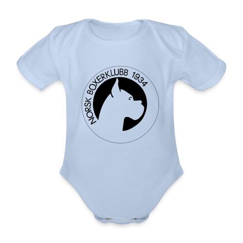 NBK-trace - Økologisk kortermet baby-body