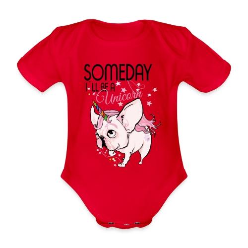 Bullycorn.png Baby Lätzchen - Baby Bio-Kurzarm-Body
