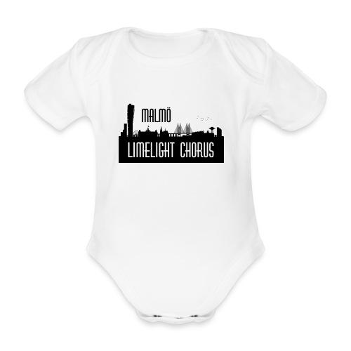 MLCLogo - Ekologisk kortärmad babybody