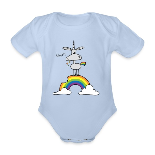 Dru - What?! - Baby Bio-Kurzarm-Body