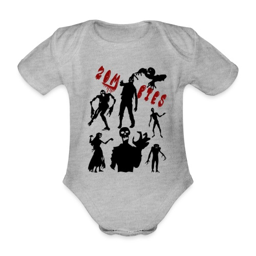Zombies - Vauvan lyhythihainen luomu-body