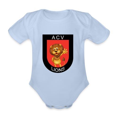 Lions logo - Baby Bio-Kurzarm-Body