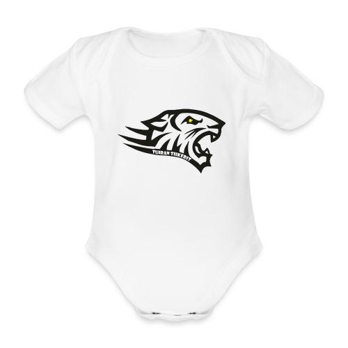 Tuiran Tiikerit tuoteperhe, pieni logo - Vauvan lyhythihainen luomu-body