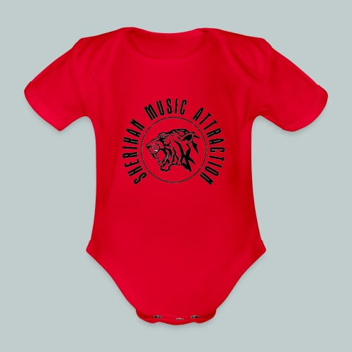 Sherikan Logo - Ekologisk kortärmad babybody
