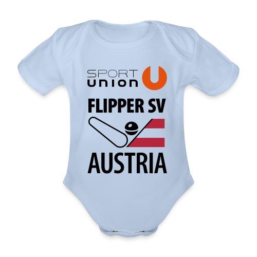 flippersv austria union or - Baby Bio-Kurzarm-Body