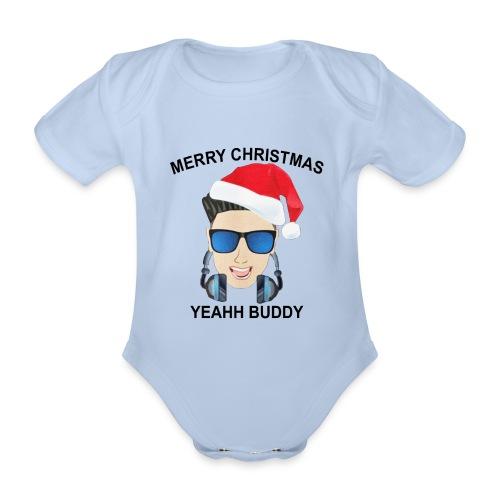 Dj Pauly D Club - Vauvan lyhythihainen luomu-body
