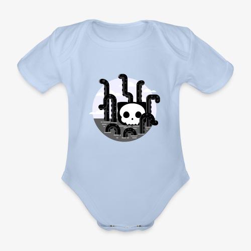 Cat octopus   Monster cat Github   Css   Web - Organic Short-sleeved Baby Bodysuit