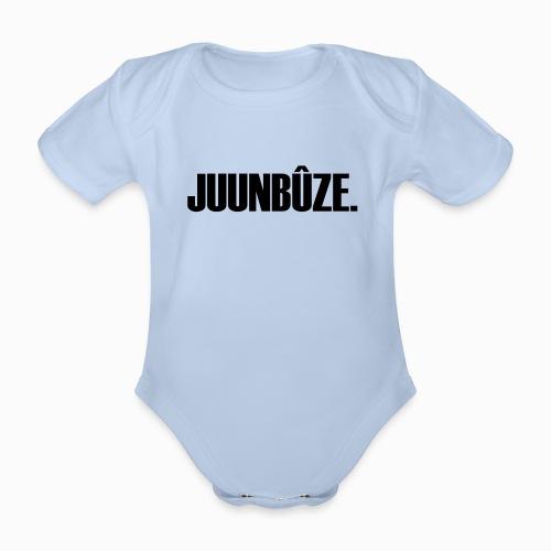 Juunbûze - Baby bio-rompertje met korte mouwen
