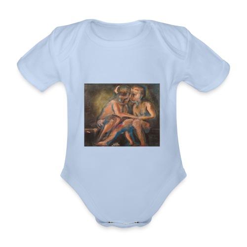 Gli Angeli - Body ecologico per neonato a manica corta
