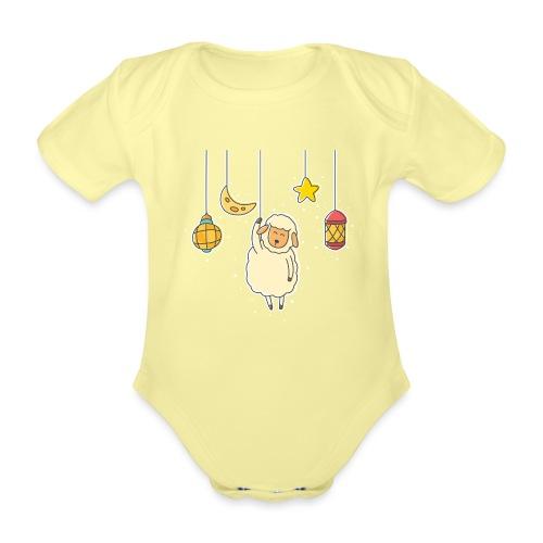 Sheep - Organic Short-sleeved Baby Bodysuit