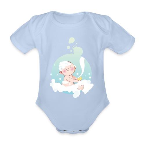 Umstandsmode T-Shirt mit Motiv - Baby Bio-Kurzarm-Body